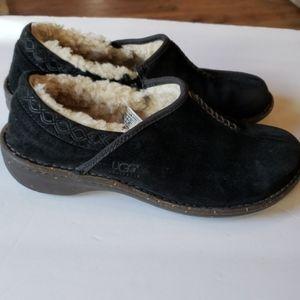 Black Ugg s/n 1757 Bettey Size 9